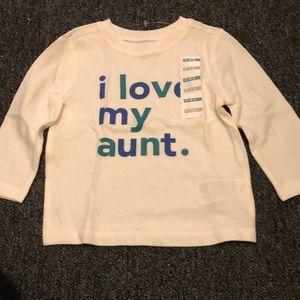 I love you aunt long sleeve shirt